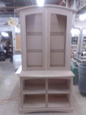 Custom Made Quarter Sawn White Oak Hutch
