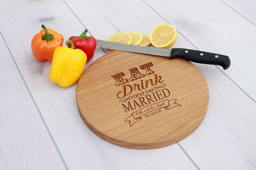 Custom Made Personalized Cutting Board, Engraved Cutting Board, Custom Wedding Gift – Cbr-Wo-Lukebenwright