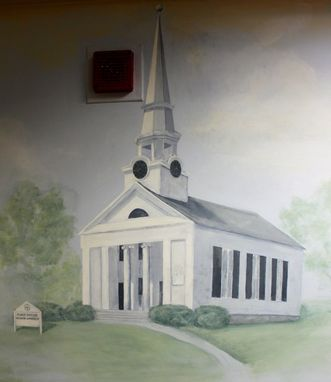 Custom Made Mural Painting (Also Building Or House Portrait)