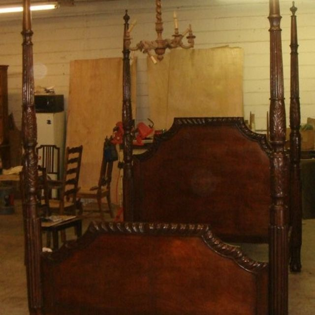 Custom Canopy Bed beds, bed frames and headboards | four poster beds | custommade