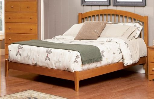 Custom Made Caramel Latte Queen Trundle Bed