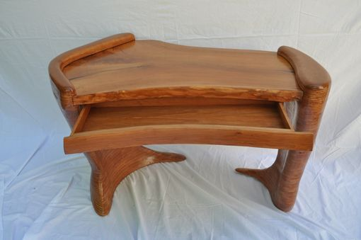 Custom Made Sculpted Cherry Desk  1006