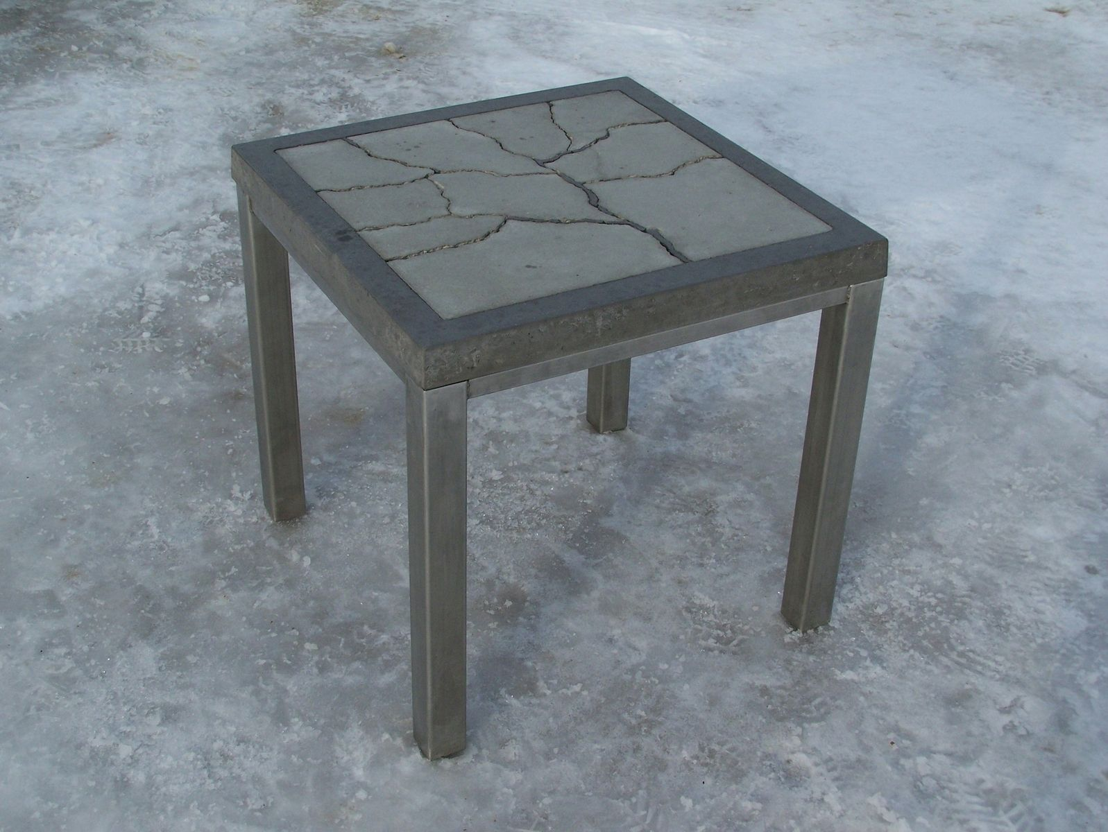 Brilliant Custom Fragmented Tree Concrete Table By Natural Concrete Download Free Architecture Designs Scobabritishbridgeorg