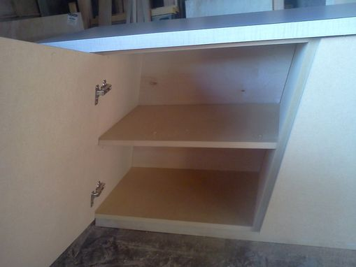 Custom Made Slanted Cabinet By:Comanche Cabinets