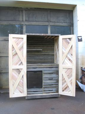 Custom Made Reclaimed And Sustainably Harvested Wood Merry-Makers Hutch