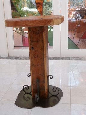 Custom Made Craftsman Style Accent Table