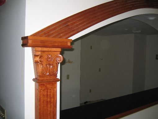 Custom Made Custom Cherry Moulding