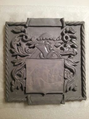 Custom Made Family Crest/Coat Of Arms