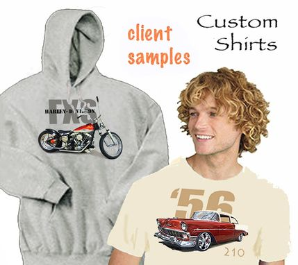 Custom Made Custom Designed T-Shirt, Sweat Or Hoodie