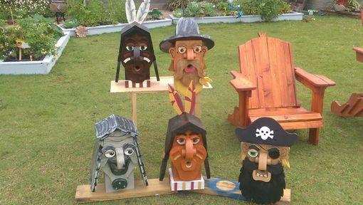 Custom Made Character Birdhouses