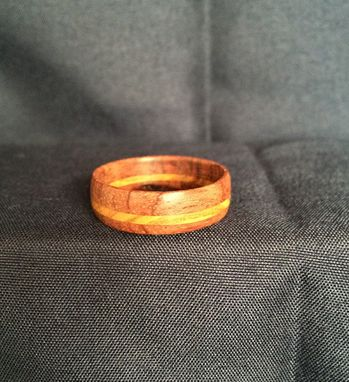 Custom Made Hand-Made Customized Wooden Rings