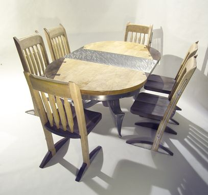 Custom Made Mixed Media Dining Set
