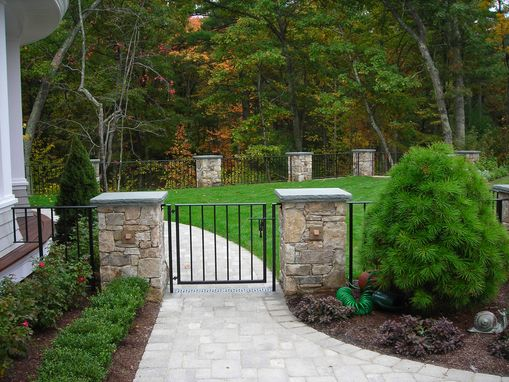Custom Made Custom Exterior Railings, Fencing & Gates