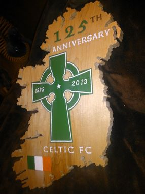 Custom Made Celtic Football Club Artwork