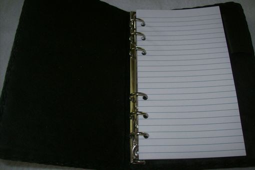 Custom Made Custom Leather Personal Notebook