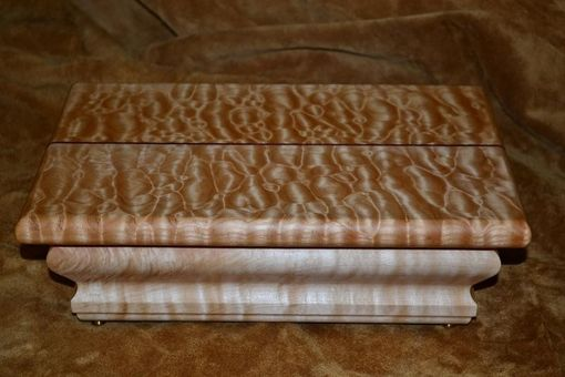 Custom Made Quilted Maple Custom Jewelry Box