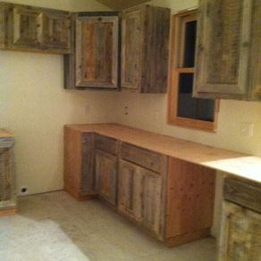 Reclaim Cabinets For A Rustic Cabin By John Thomas