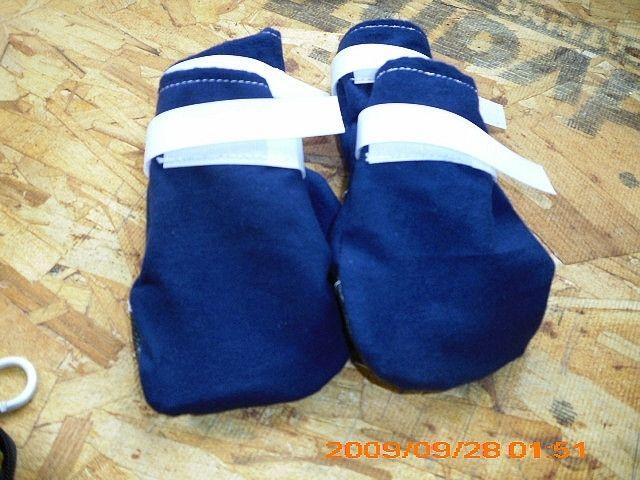 Custom Made Dog Booties Socks For Hardwood Floors By All