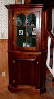 Custom Made Pennsylvania Corner Cupboard