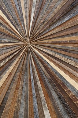 Custom Made Starburst Wood Wall Art, Made With Old Reclaimed Barnwood, Different Sizes Available.