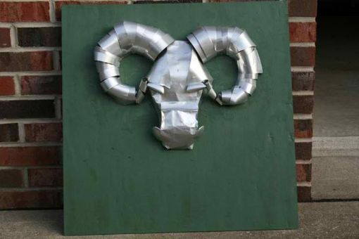 Custom Made Rams Head