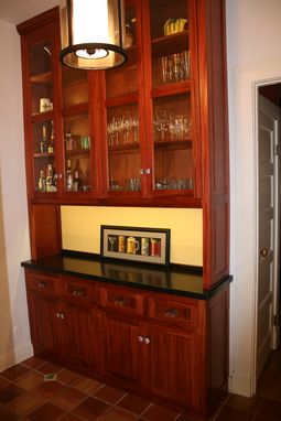 Custom Made Mahogany Butler's Pantry
