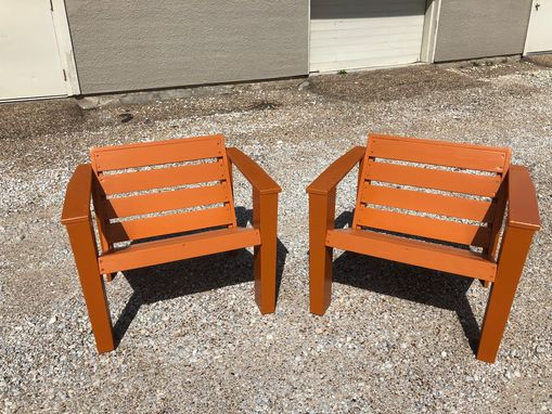 Custom Made Modern Adirondack Chair