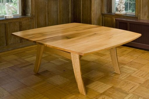 Custom Made Red Oak Dining Table