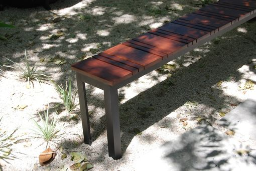 Custom Made Sol Outdoor Bench