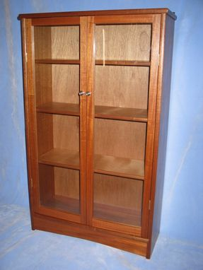 Custom Made Mahogany Bookcase