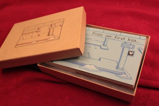 Custom Made New York Valentine's Hand-Drawn Flipbook