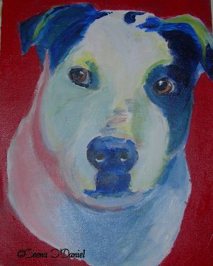 Custom Made Custom Dog Pet Portrait Of Zhara