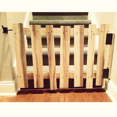 Custom Made Shabby Chic Baby Gate - Pallet Style