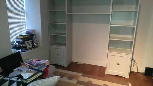 Custom Made Clothing Storage Cabinet