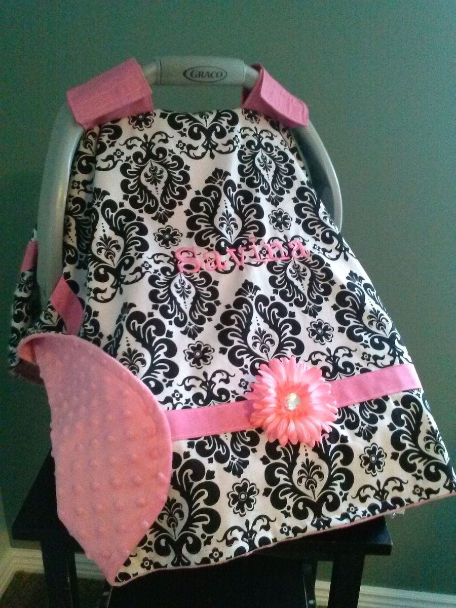 Hand Crafted Car Seat Canopy Cover By Peek A Boo Covers Llc