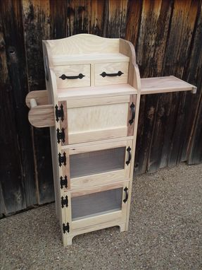 Custom Made Onion Potato Bins