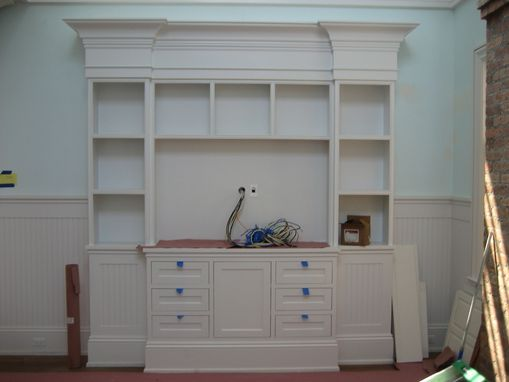 Custom Made Traditional Entertainment Centers