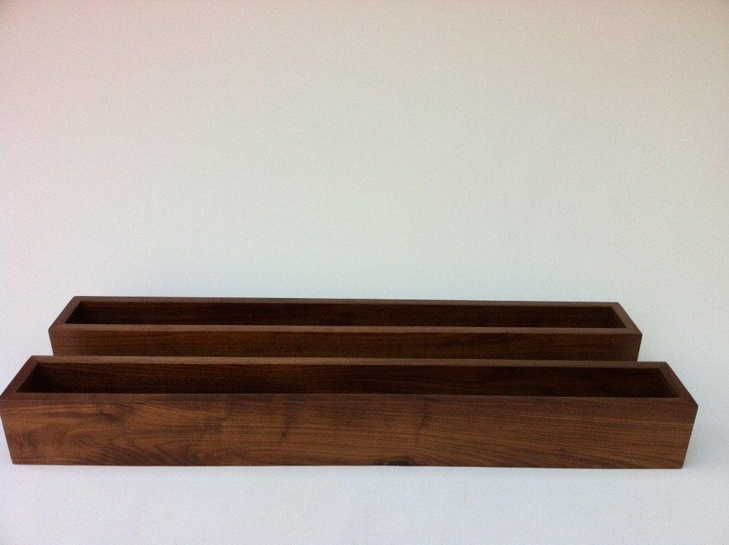 buy a hand crafted display box ottoman tray w splines and felt  - modern walnut display box tray  large zen garden  interior design decorby derek hurd