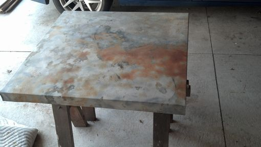 Custom Made Reclaimed Industrial Kitchen Table