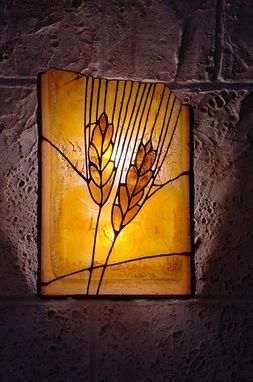 Custom Made Stained Glass Sconce