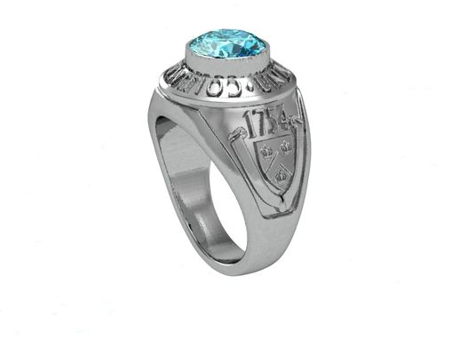 Custom Made College Graduation Ring