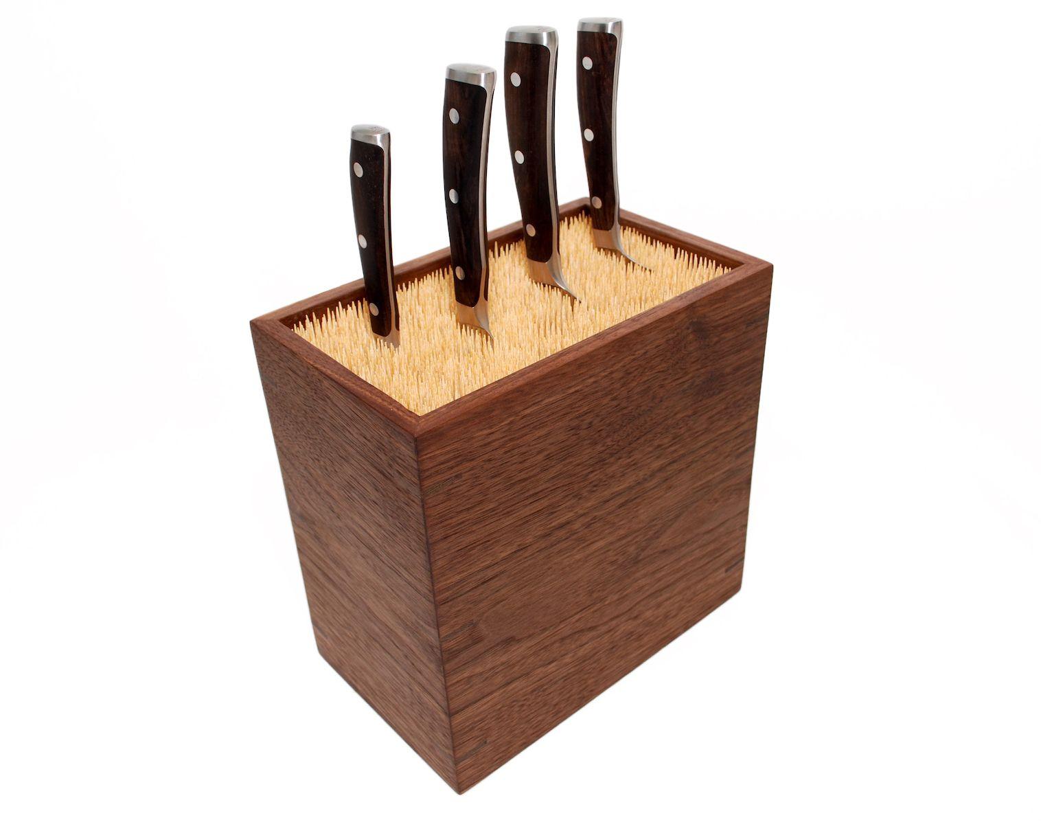 Bamboo Skewers Knife Block