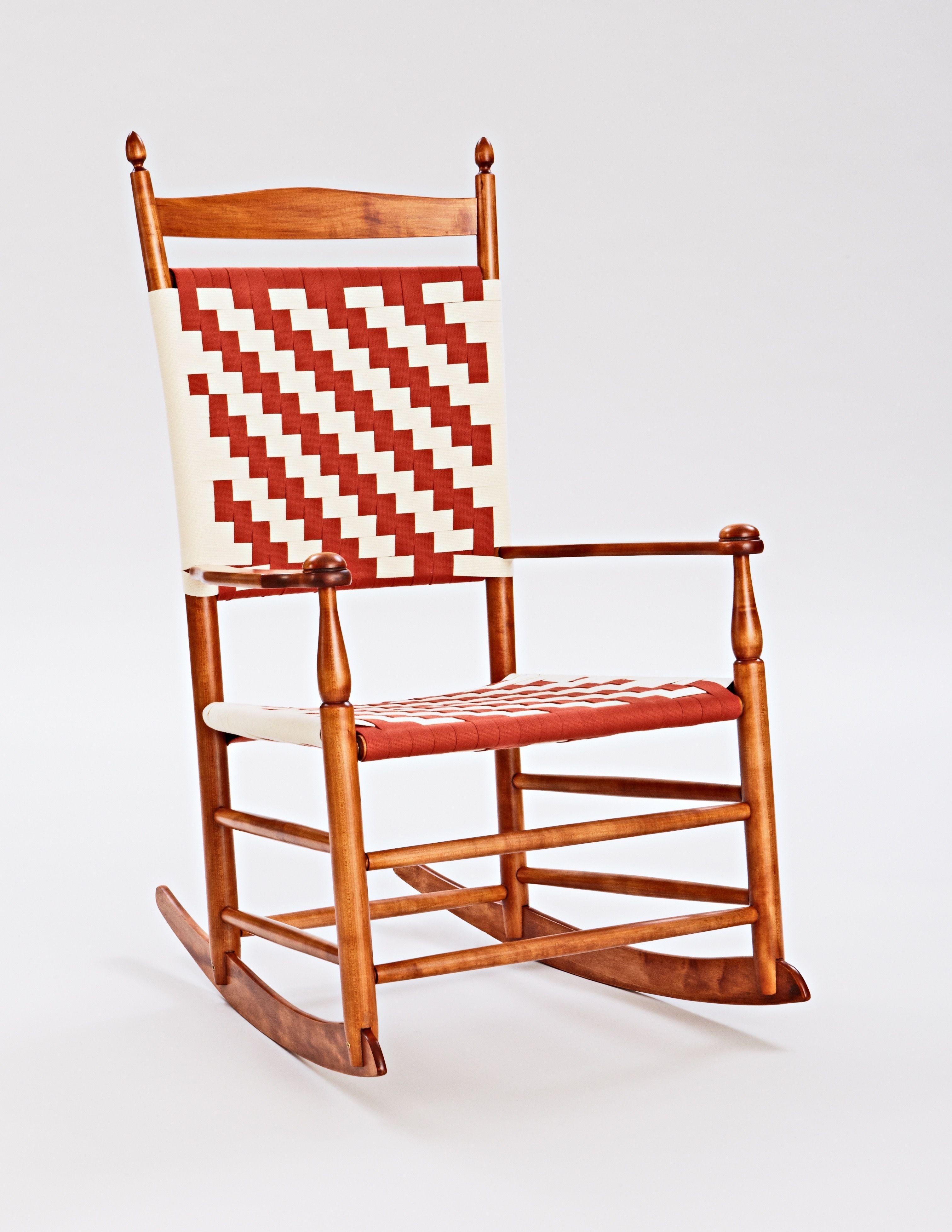 Custom Made Shaker Rocking Chairs