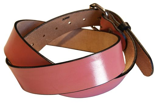 Custom Made Solid Color Belts