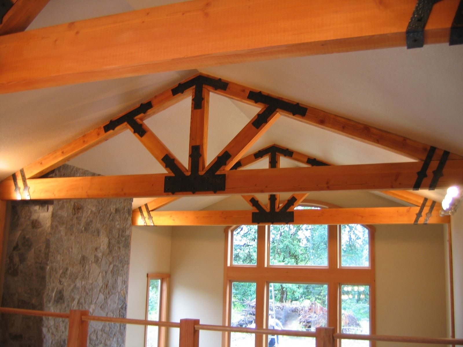how to make timber brackets
