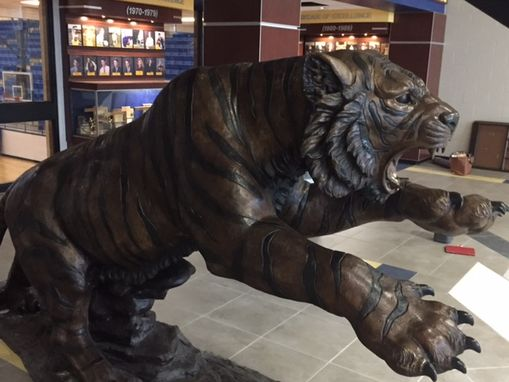 Custom Made Bronze Custom Tiger Pryor High School
