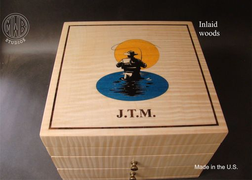 Custom Made Custom Jewelry Box Handcrafted In The U.S.  Jb10-2
