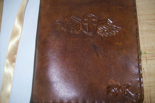 Custom Made Custom Leather Small Journal With Custom Design