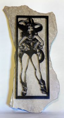 Custom Made Sailor Jerry Cowgirl