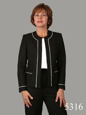 Custom Made Beautiful Black Italian Cotton Jacket And Pant